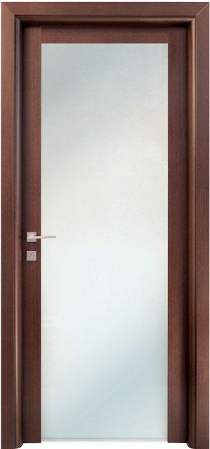Porte Interne In Vetro.Porta Interna In Legno Linea Basic Mod 412 Interno Vetro