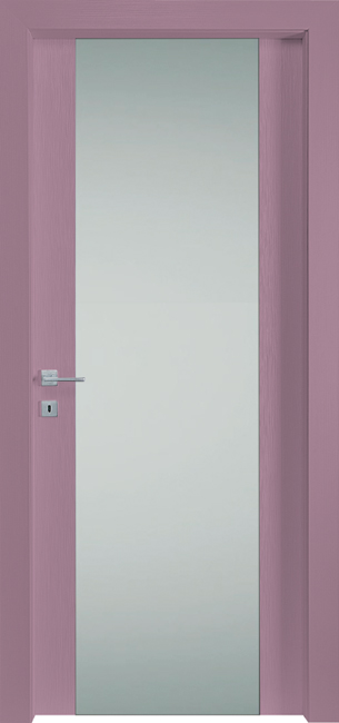 PORTE IN LEGNO PER INTERNI - LINEA FASHION - mod 652V - VIOLET